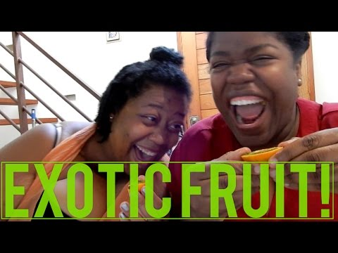 Trying Exotic Colombian Fruits For The First Time