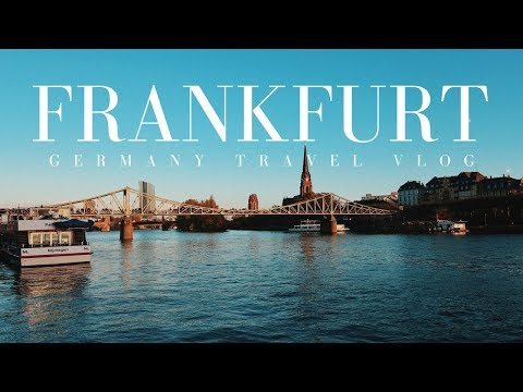 EXPLORING WÜRZBURG AND FRANKFURT | TRAVEL VLOG | GERMANY