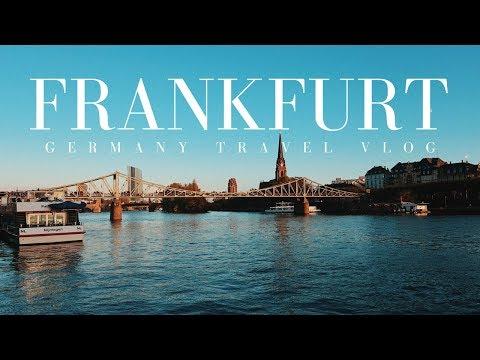 EXPLORING WÜRZBURG AND FRANKFURT | TRAVEL VLOG | GERMANY
