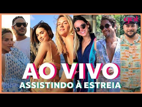 AO VIVO! Gio Ewbank Recebe Hugo Gloss, Bru Marquezine E Amigos Na Estreia De 'No Paraíso'