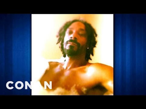 Snoop Lion Was Skeptical Of Twitter At First  CONAN on TBS
