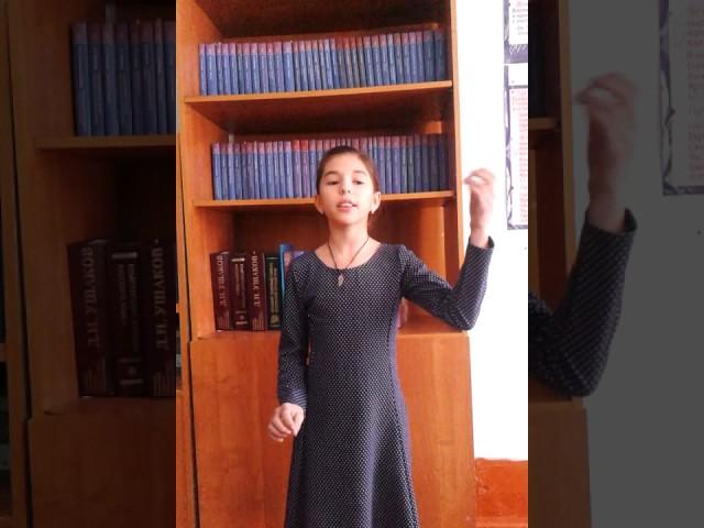Изображение предпросмотра прочтения – «МОУ Нерчинско-Заводская СОШ» читают произведение «Ворона и Лисица» И.А.Крылова