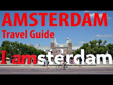 AMSTERDAM Travel Guide - Coffee Shops, Rijksmuseum, Anne Frank, Bikes, Stedelijk Museum (PART 1/3)