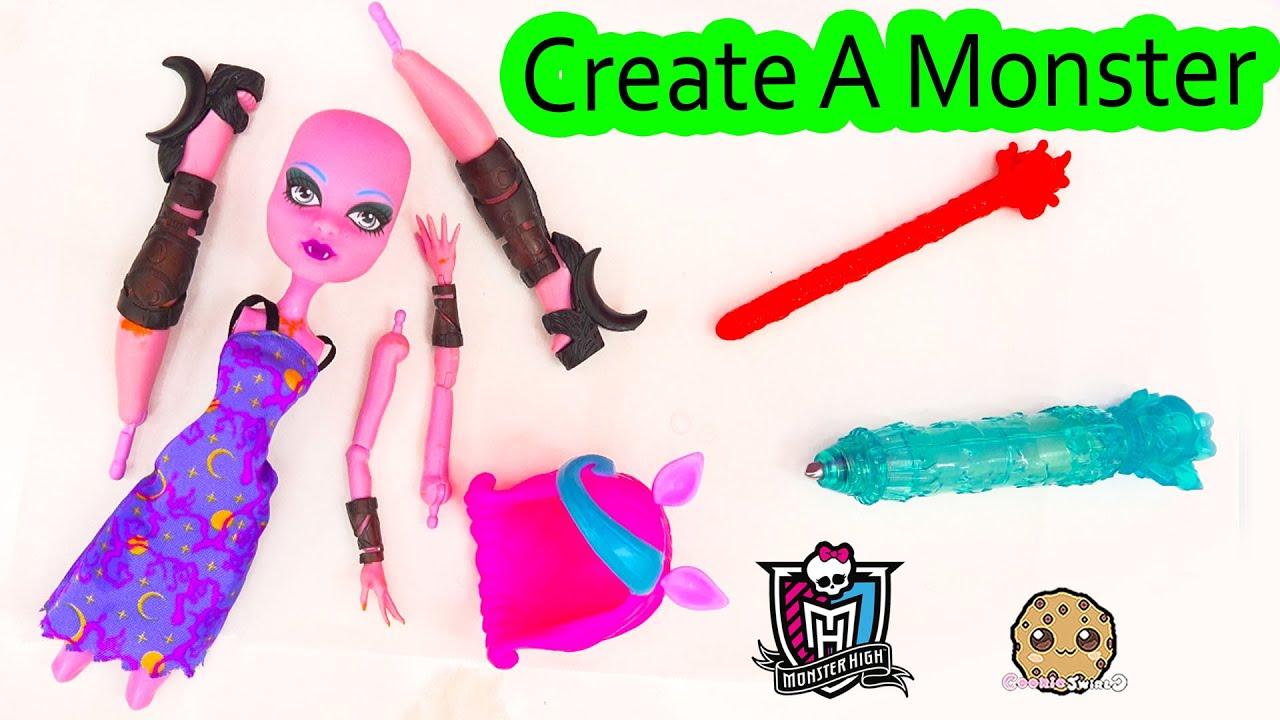 Create a monster doll cam pack playset water color change for Monster advanced search