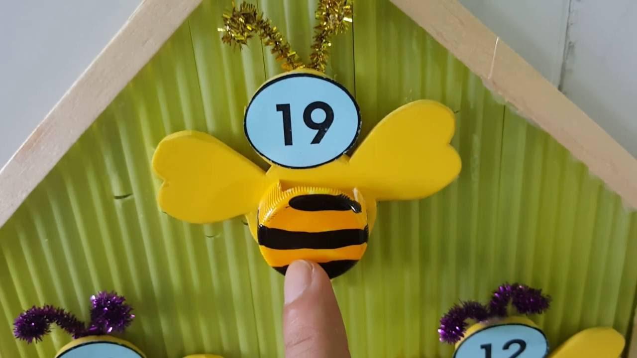 Trang trí lớp học mầm non – góc bé ngoan/ góc cắm cờ – Ong vàng chăm học