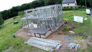 Fereco Time Lapse Light Steel Frame house