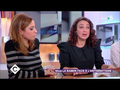 Mme la rabbin face à l'antisémitisme - C à Vous - 15/01/2019