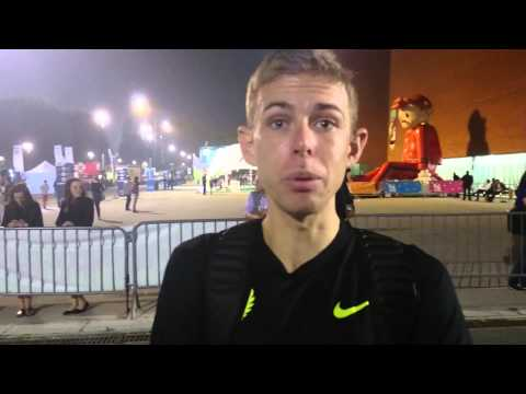 Galen Rupp post 1500m pb in Brussels