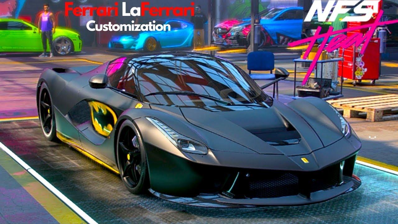 Ferrari Laferrari 13 Customization Need For Speed Heat Batman Car Youtube