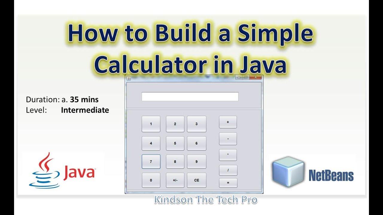 u202b u0634 u0631 u062d  u0639 u0631 u0628 u0649 how to build a simple calculator by java swing