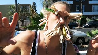 The Clothespin Face Off Challenge! - Dudesons Summer of Challenges