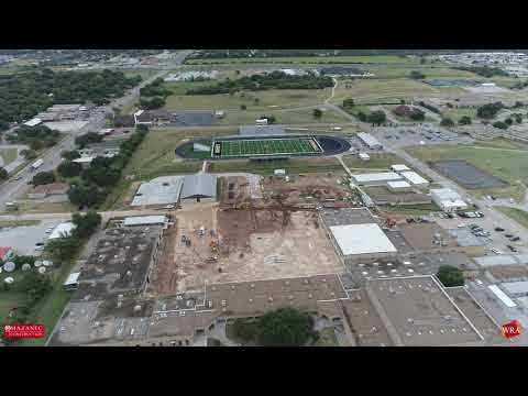 WRA Architects   Gatesville ISD High School Construction Update   July 2020