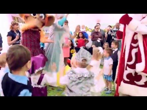 """""""Островок Детства"""" - частный детский сад Новогодний утренник деток  20.12.2015"""