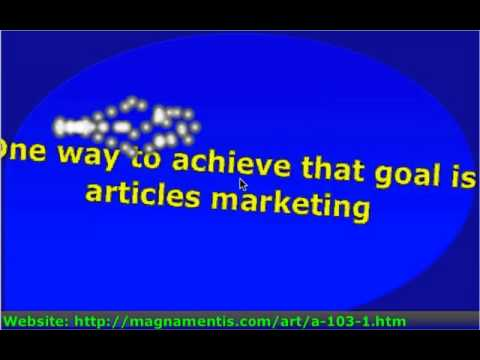 103.1.1 Make Articles An Effective Marketing Resource In Significantly Less Time !