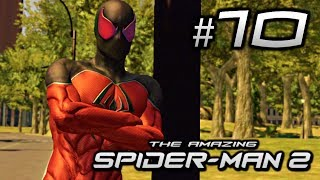 The Amazing Spider-Man 2 Gameplay Walkthrough Part 10 - Mission 10: My Ally, My Enemy!