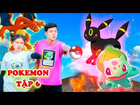 Trung Chuối Cảm Hóa Thành Công Pokemon Charizard Giúp Sức Cho Mình - Pokemon Tập 6 - Phim Hài Táo TV