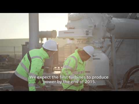 Wind power plant Westermeerwind. Building the Netherlands' largest nearshore wind power plant