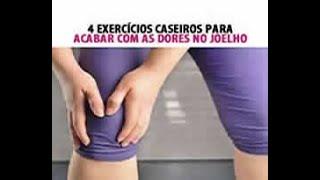 4 EXERCÍCIOS PARA ACABAR COM DORES NO JOELHO