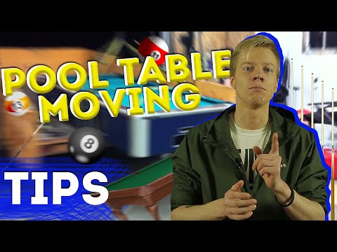 MOVING TIPS 2020 | POOL TABLE MOVING | MOVING HACKS