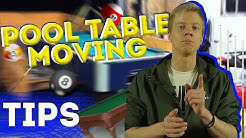 MOVING TIPS 2019 | POOL TABLE MOVING | MOVING HACKS