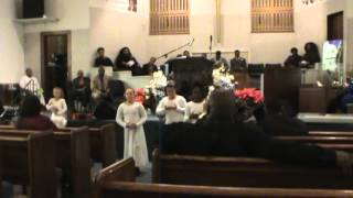"Anointing in Motion (A.I.M.) dancing to ""Mary Did You Know"" by Ceelo Green"