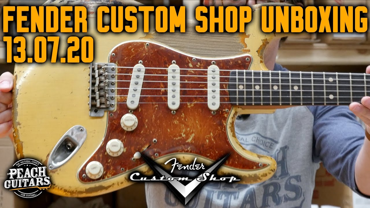 Fender Custom Shop Unboxing 13/07/20