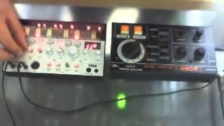 KORG volca and BOSS DR55 - lotek / BakaOscillator