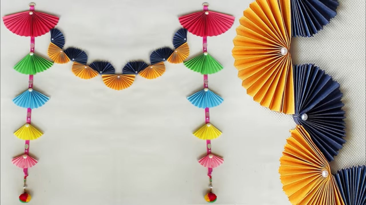 Beautiful WOW !!! Wall Hanging Craft Idea at Home || DIY Room Decor ...