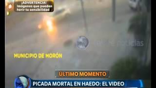 Picada mortal en Haedo: el video - Telefe Noticias