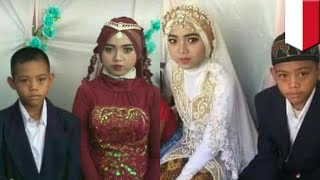 Pernikahan remaja 13 tahun dan 15 tahun jadi viral - TomoNews