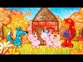 Get Squiggling | Three Little Pigs | S1E7