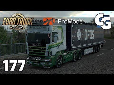 Euro Truck Simulator 2 - Ep. 177 - Scania RJL 4-Series + Kriechbaum V8 - ETS2 ProMods 2.20 Gameplay