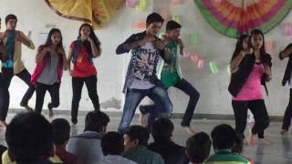 School annual function dance