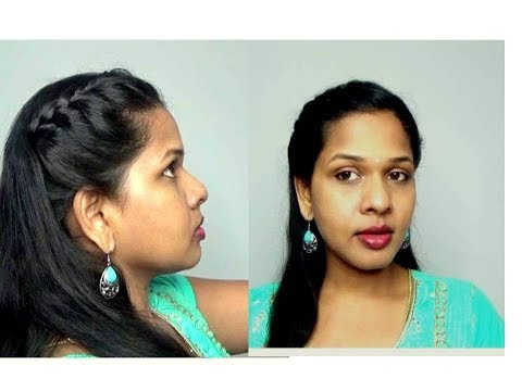 CUTE HAIRSTYLE FOR COLLEGE GIRLS [TAMIL] HAIRSTYLE TUTORIAL thumbnail