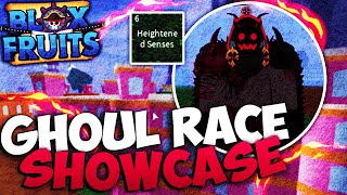 Ghoul Race Showcase / Guide - BLOX FRUITS UPDATE 12 (Very Detailed)
