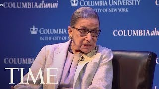 Supreme Court Justice Ruth Bader Ginsburg Says The #MeToo Movement Is Here To Stay | TIME