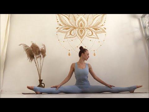 Йога танец. Утренняя женская йога. Мягкая динамическая практика йоги под музыку.