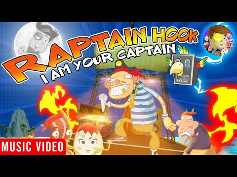I AM YOUR CAPTAIN �� Raptain Hook Music Video (FV Family Pirate Rapper)