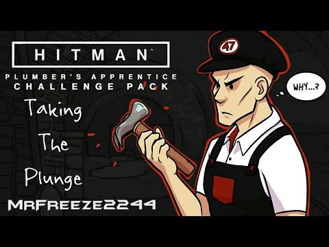 HITMAN | Taking The Plunge | Plumbers Apprentice Challenge Pack | Master Plumber