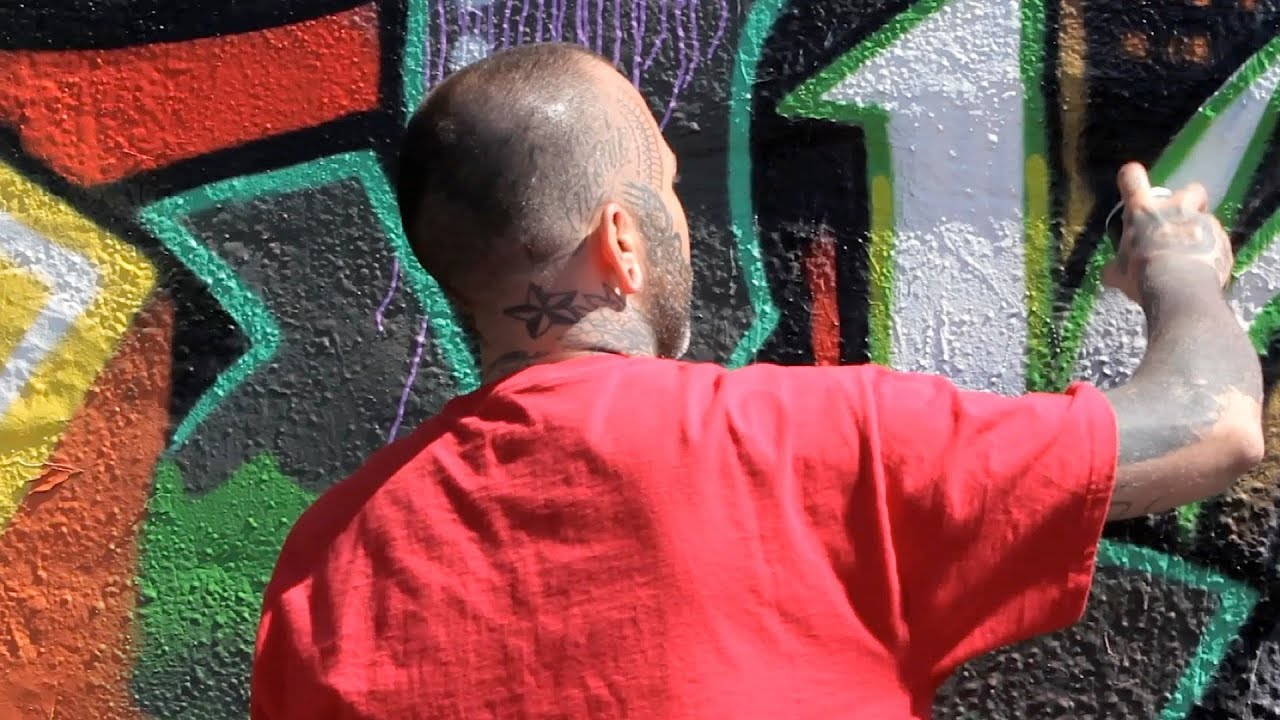 3 tips for creating a large mural graffiti art youtube
