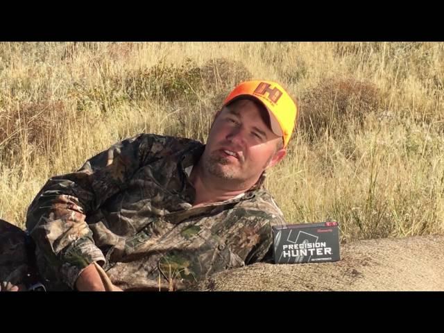 Hornady: Pigman on Precision Hunter™ Ammunition