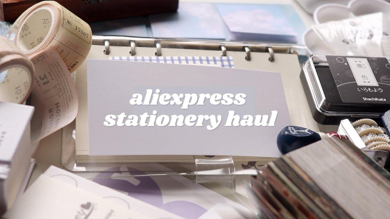☁️ aliexpress stationery haul w/ jianwu store