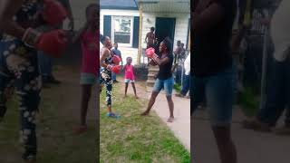 hood boxing females fight 1