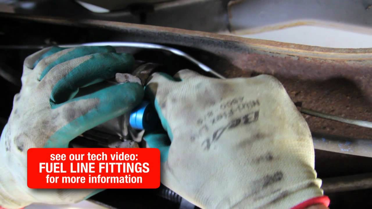 2002 Caravan Fuel Filter How To Replace A Youtube
