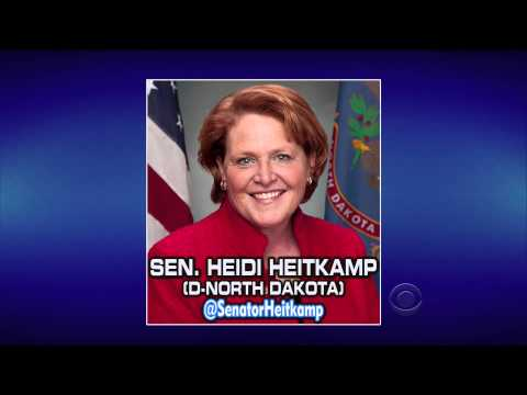 Stooge, and Senator, Heidi Heitkamp of North Dakota