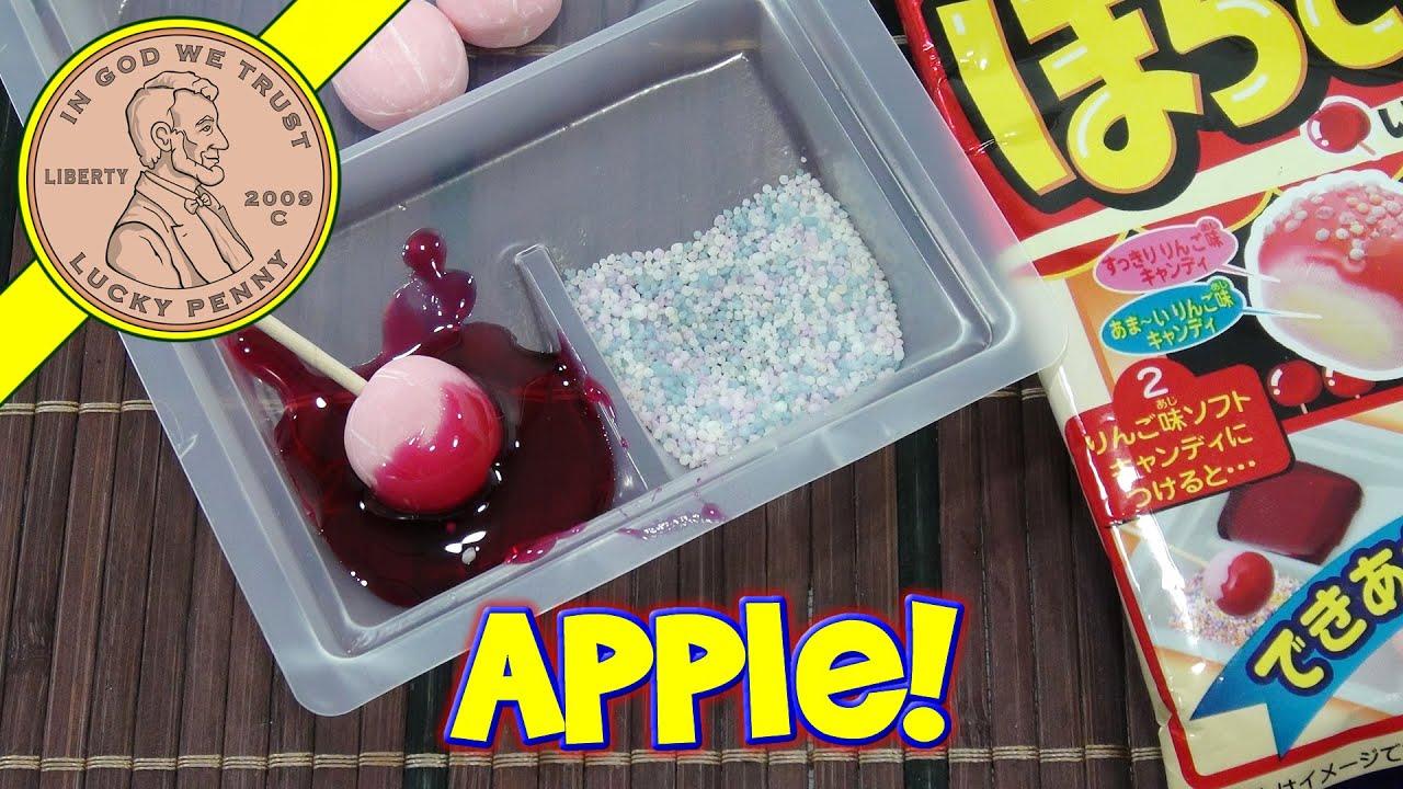 coris candy apple diy japanese candy kit youtube. Black Bedroom Furniture Sets. Home Design Ideas