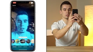 360° Augmented Reality Selfie Videos with iPhone X!