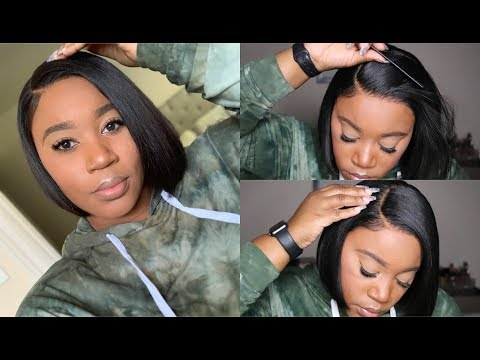Very Affordable Everyday Bob Lace Front Wig I Quick & Easy Install I Omgherhair