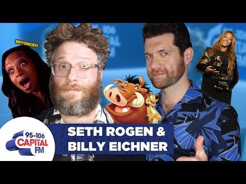 Seth Rogen & Billy Eichner On The Lion King Beyoncé And Meghan Markle 🦁     Capital