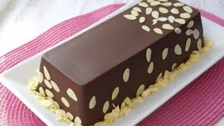 Торт в шоколаде с черносмородиновым муссом